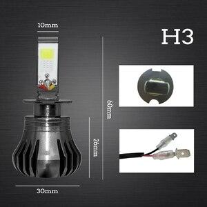 Image 3 - Auto Nebel Lampe Leuchtet H8 H9 H11 H3 880 881 H27 LED Auto Scheinwerfer 12 v 55 watt Weiß blau Gelb Automobil Tagfahrlicht Licht