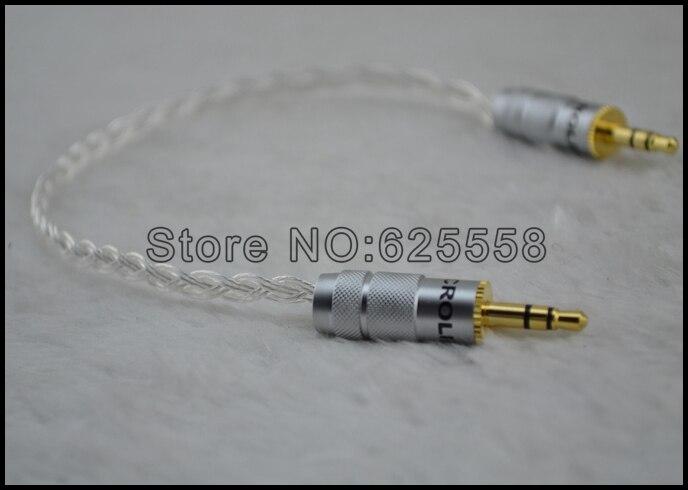 Ad Alte Prestazioni Nuovo 3.5mm 3 Poli Maschio a Maschio Record Car aux cuffie Cavo Audio collegare il Cavo