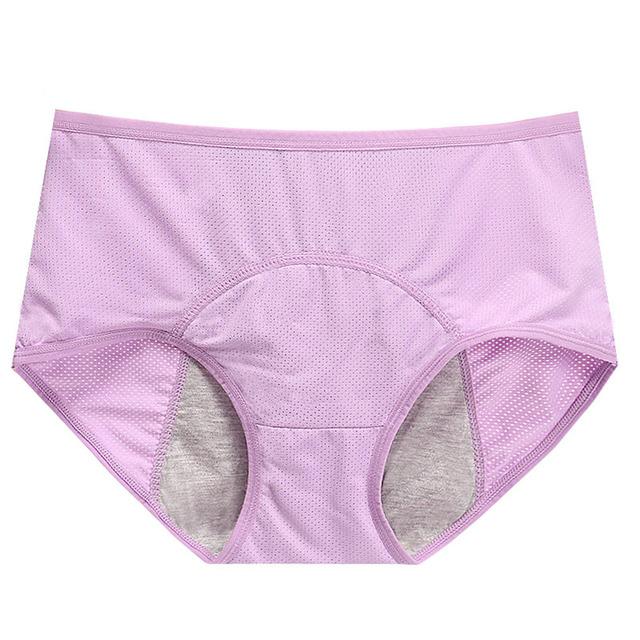 Lady Menstrual Period Panties Holes Briefs Leakproof