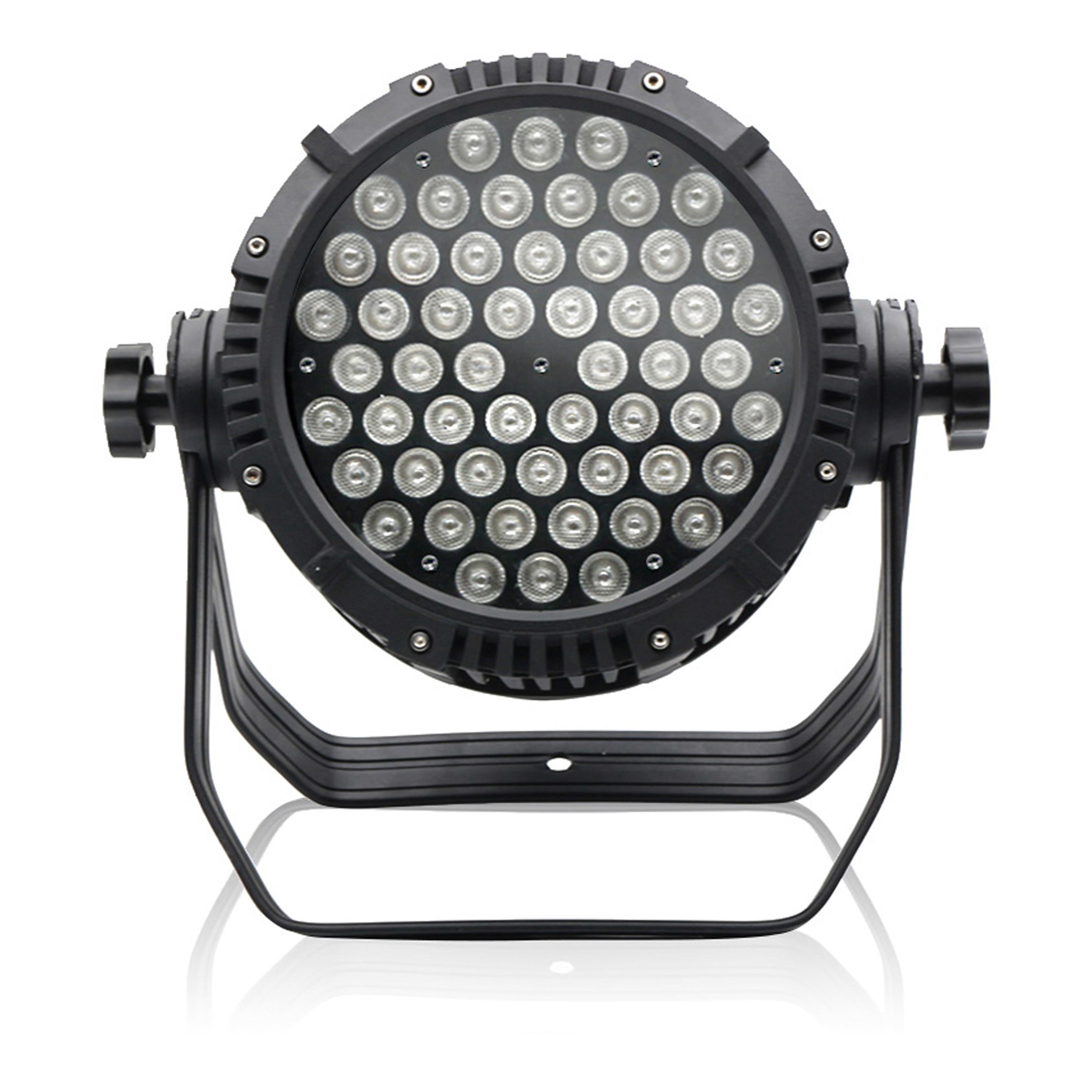 (4PCS/Lot) IP68 Waterproof 18W 24W 36W 54W DMX LED Stage Light DMX512 RGB Floodlight Flood Light Bridgelux Chip Wall Washer Lamp