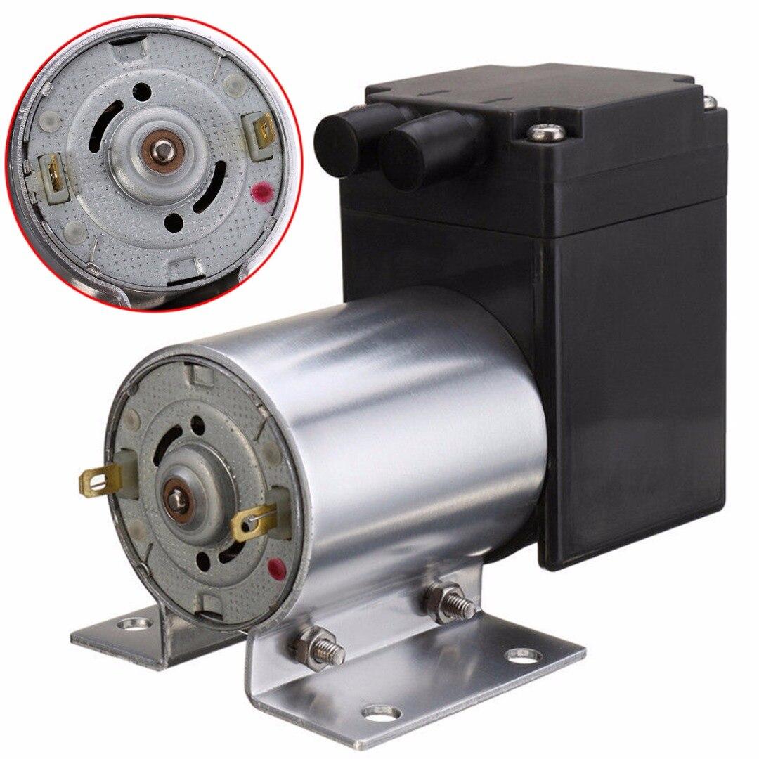 цена на Mayitr DC 12V 6W Mini Air Vacuum Pump 5L/min High Pressure Suction Diaphragm Pumps with Holder