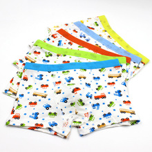 5 Pcs/lot Kids Boys Underwear Cute Cartoon Car Children's Pants Soft Cool Modal Kids Boxer Underpants Briefs Baby Boys Underware