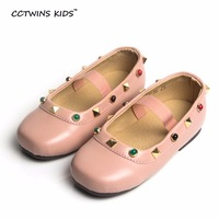 CCTWINS KIDS 2017 Spring Autumn Fashion Mary Jane Children Flat PU Leather Baby Girl Rhinestone Party