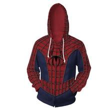 3d Print Sam Raimi Spider man Peter Benjamin Parker Sweatshirts Hoodie Movie Cosplay Costume Jackets Coats Men Women Top