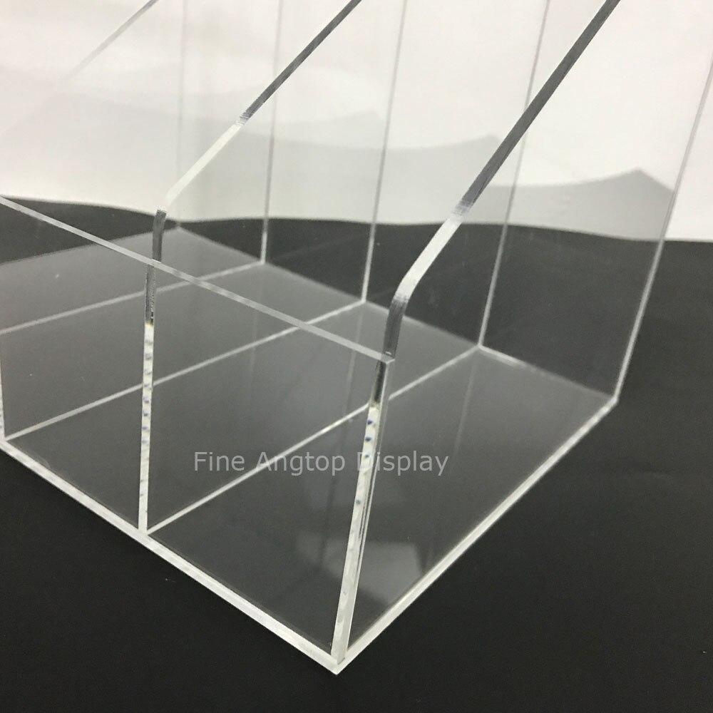 Clear Jewelry Display Stand Mobile Wallet Bracelets Display Shelf Plexiglass Rack