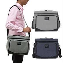Insulated Picnic Bag Large Cool Tote Lunch Box Multi-compartment Camping Food Pack Vehicle refrigerated bag LH051