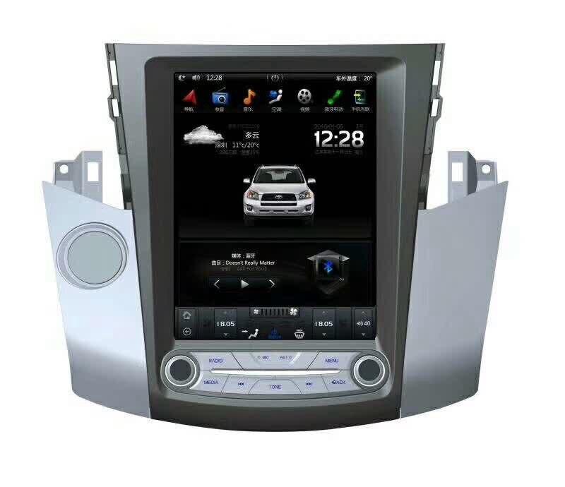 12,1 Тесла Тип Android 7,1 6,0 подходит TOYOTA RAV4 2006 2007 2008 2009 2010 2011 2012 Авто/ C dvd плеер навигационная gps радио