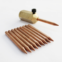 copper spot welding needles holder car body repair mini spotter stud welder machine dent weld studs automotive panel tool