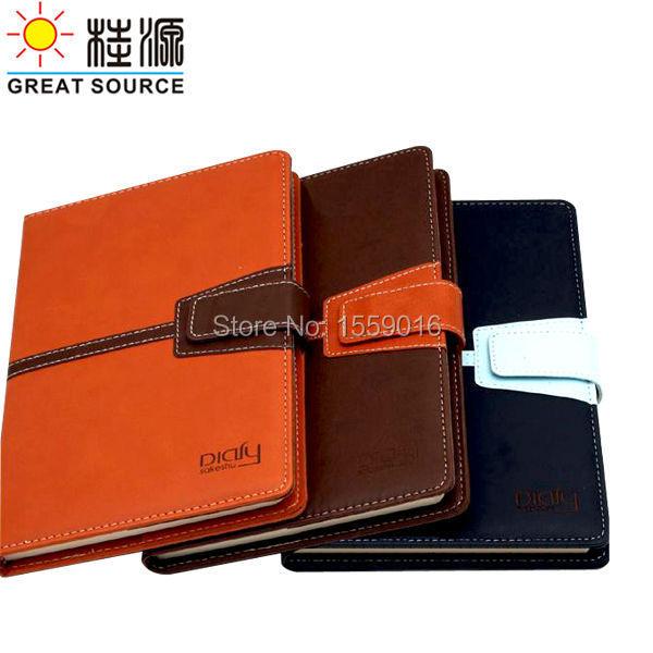 afbc1f298c29b Grande Source A5 Ordinateur Portable Bloc-Notes de Cuir En Relief Logo  Livraison Gratuite