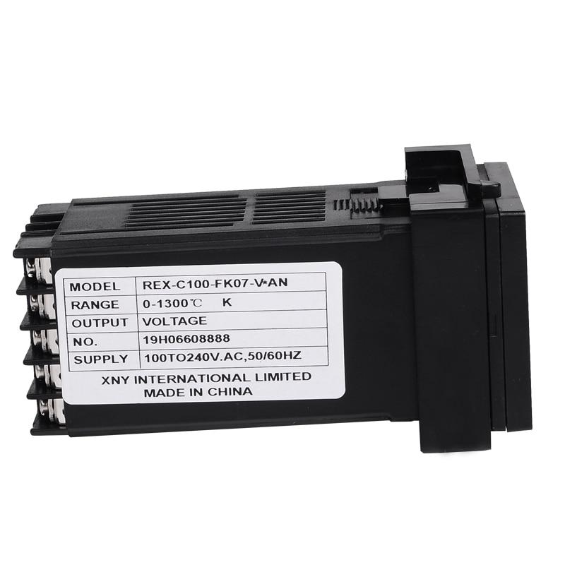 48 * 48 mm-es digitális PID hőmérsékletszabályozó hőelem RTD - Mérőműszerek - Fénykép 5
