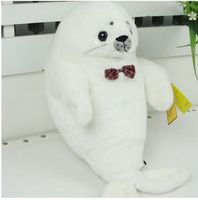 Marine Animal Bowtie Seal Large Sea Dog About 49cm Soft Pillow Valentine S Day Gift B4823