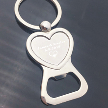 Personalized Keychain Metal Beer Bar Tool bottle opener can wedding party giveaways custom engraved free with your name