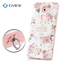 High Quality 3D Relief Print Soft TPU Back Cover Case For Huawei G9 Plus 5 5