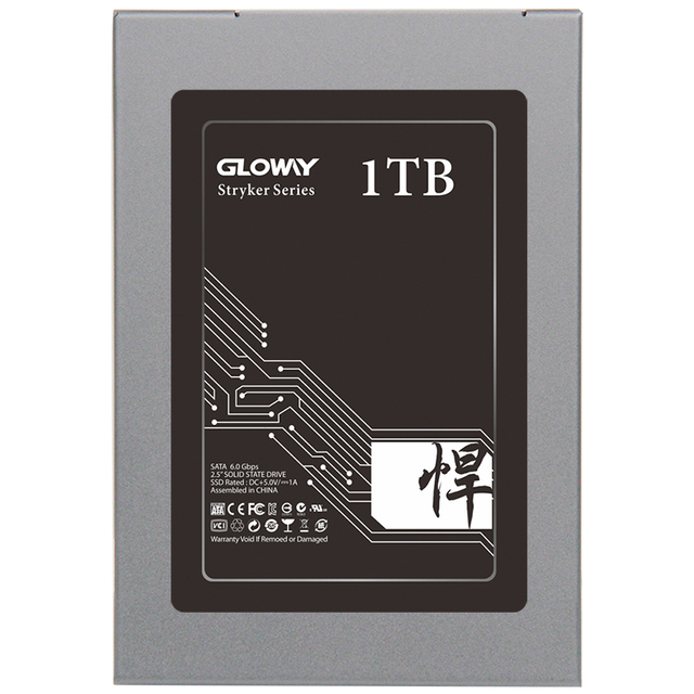 Gloway 7mm 2.5 inch sataIII internal 120G 240G 512G1TB SSD Solid State Drive MLC/TLCNand with 256MB Cache SMI2246EN Controller