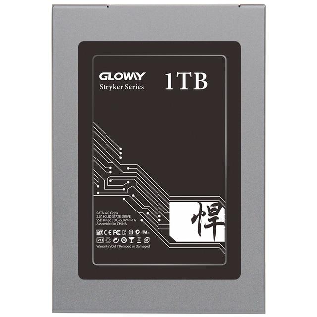 Gloway 7mm 2.5 polegada interna sataIII 120G 240G SSD Solid State Drive MLC 512G1TB/TLCNand com 256 MB de Cache SMI2246EN Controlador