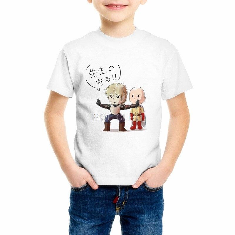 Fashion cool confortable Boy/Girl Tshirt ONE PUNCH-MAN Printed Childrens T shirt casual Kid 3D cartoon t-shirt 7C-1