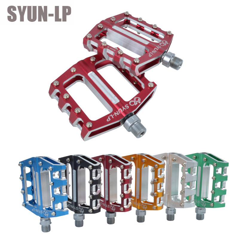 SYUN-LP B009 Mountain Bikes Fold Bicycles ultra light aluminum alloy bearing pedals Parts стоимость