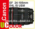Canon EF 24 - 105 мм f / 4L IS USM объектив для 760D 750D 700D 1Dx гб-70d 7D II 5D III