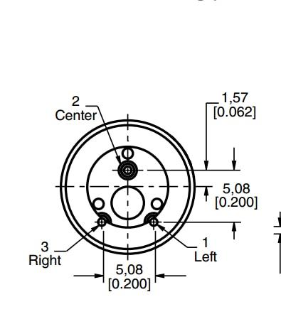 Original 392jb 250k S Rotary Potentiometer 250k Fine Axis 22mm