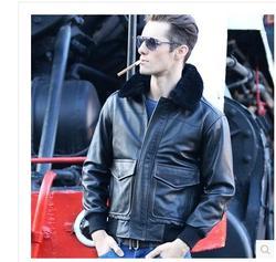 Dhl free shipping top brand winter warm genuine fur leather jacket motorcycle jackets men plus size.jpg 250x250