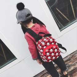 Mickey Ear Women Backpack 2018 Cartoon mochila dla dziewczynek chłopcy jakość małe plecaki bow minnie plecak urocza torba dla nastoletnich