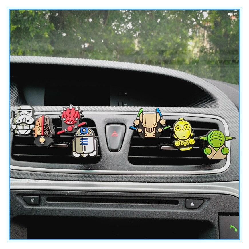 Mr Thee Leuke Star Wars Auto Luchtverfrisser Parfum Clips Luchtuitlaat Vent Versieren Speelgoed Accessoires Auto Interieur Voor Marvel