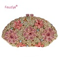 Fawziya Shanel Bag Flower Ladies Hand Bags Evening Party Purses For Women's Evening Bags