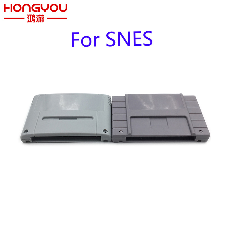 20Pcs JP US Version Games Shell Case for SFC SNES Game Card Cartridge box