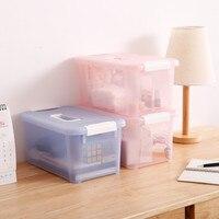 Portable medicine chest small plastic storage box organize storage box 8 liters box