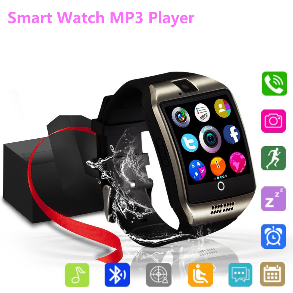 Bluetooth Smart Watch Touchscreen With Camera,Unlocked Watch Cell Phone With Sim Card Slot, Supports MP3 Player Music Playing