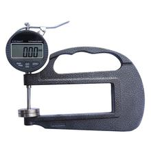 0-10 120mm Depth Thickness Gauge Deep Throat Measuring Caliper 120mm Throat Leather Thickness Meter