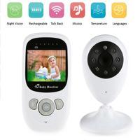 Wireless baby sleep monitor With Camera Infant Radio Babysitter Digital Video Night Vision Temperature Display Radio Nanny
