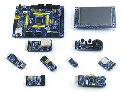 WS STM32 لوحة التنمية Open107V حزمة B لسلسلة STM32F107V STM32F107VCT6 MCU مع 9 قطعة وحدات التوسع