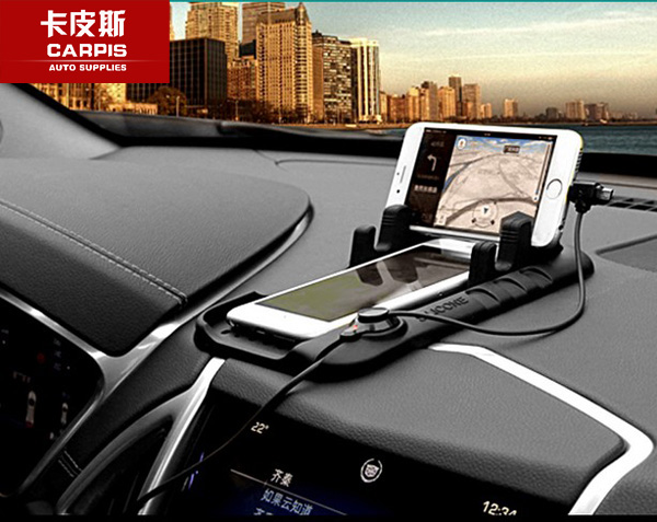 Universal Car Holder Mount Stand Charging Cradle Non Slip Mat Pad For <font><b>Mercedes</b></font> Benz CLA/GLA/GLC/GLK/GLE/ML/GL A/<font><b>B</b></font>/C/E/S Series image