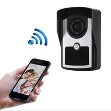 WIFI Doorbell IP55 HD WIFI Waterproof Electronic Doorbell Intercom Home Smart Electronic Visual Cat Eye includes mounting box hikvision ds kv8102 1a ds kv8102 im visual intercom doorbell waterproof ic card ip intercom