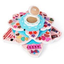 Дисней для девочек, игрушки для макияжа, ролевые игры, красота, модные игрушки, детская косметика, коробка для макияжа, принцесса, девочка, по...
