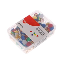 300Pcs Round Push Pins Notice Board Map Thumb Tacks Assorted Office Home