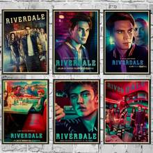 TV Series Riverdale Poster Wall Stickers Vintage Poster Prints High Quality For Living Room Home Decor(China)
