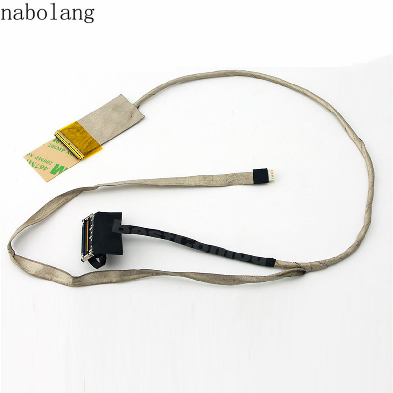 Nabolang For HP Pavilion G7-2000 Series LED LCD Screen LVDS Video Cable repair For HP G7-2000 LCD Display Video Flex Cable soncci lcd screen display cable for hp pavilion g6 g6 1000 lvds cable repair parts for hp g6 g6 1000 lcd video cable