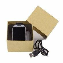Smartwatch dz09 smart watch con cámara bluetooth reloj de la tarjeta sim para apple ios android teléfonos soporte multi idiomas