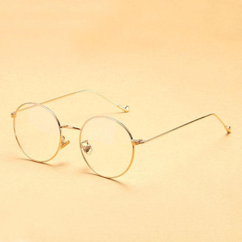 b014a5f507903 Dokly 2017 ronde cadre lunettes Vintage Femme Lunettes Cadre Classique Lunettes  rondes Cadres Femmes de Lunettes dans Lunettes Cadres de Vêtements ...