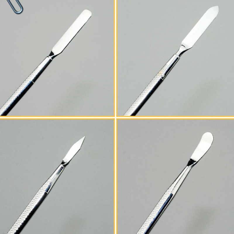 3 Pcs Metal Spudger Schraper Professionele Mobiele Telefoon Tablet PC Metal Demontage Staven Repareren Gereedschap Set