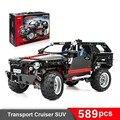 Decool 3341 técnica extreme cruiser bloco tijolo set toy game boy carro off roader compatível