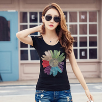 Blusas Y Camisas Mujer 2018 Summer Tops Diamond Shirt Women Blouses Floral Office Women Blouse Vetement