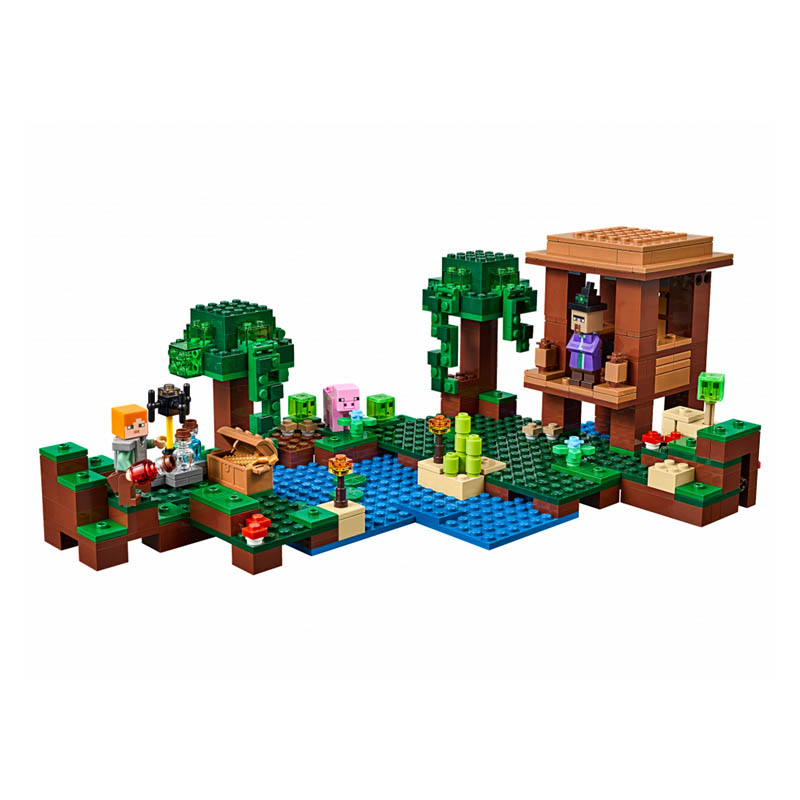 Pogo Lepin Bela Building Blocks Bricks Action Figures Minecrafted My World Gifts For Children Zombies Compatible Legoe lepin 75821 pogo bela 10505 birds piggy cars escape models building blocks bricks compatible legoe toys