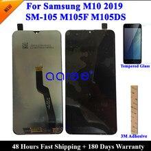 Testowane LCD do samsunga M10 LCD M105 ekran LCD do Samsung A10 A105F wyświetlacz LCD ekran dotykowy digitizer montaż