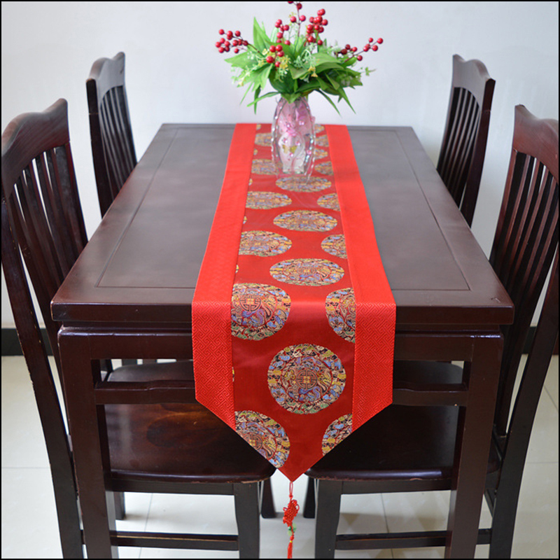 Home Tablecloth Runner Wedding Decortion Table Runner Bed