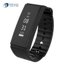 Teyo Спорт Smart Band D1 Фитнес GPS трекер сна Мониторы Водонепроницаемый stappenteller Pulsera inteligente Smart Band