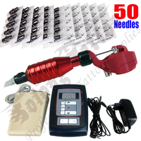 Rotary Tattoo Machine and Permanent Makeup Pen Digital Power Supply Foot Pedal dragonfly tattoo machine