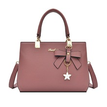 Puimentiua 2019 Fashion Shoulder Bag Women Designer Luxury Handbags Bags Plum Bow Sweet Messenger Crossbody For